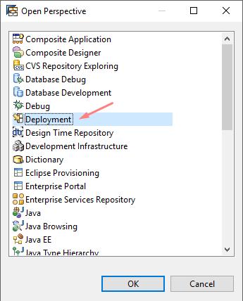 Deployment of EAR file with SAP NetWeaver Developer Studio